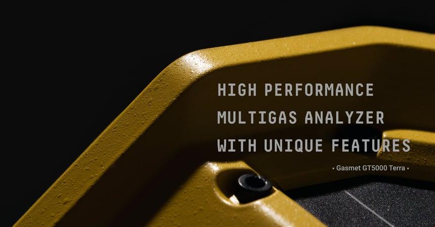 Gasmet's New Portable Gas Analyzer GT5000 Terra